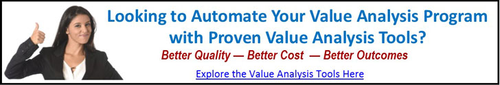 Hospital Value Analysis Tools